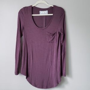 Anthropologie Pure + Good | Scoop Neck Long Sleeve